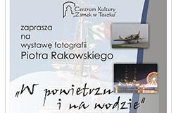 """Wystawa """"W powietrzu i na wodzie"""" 3-29.09.2013 Zamek w Toszku"""